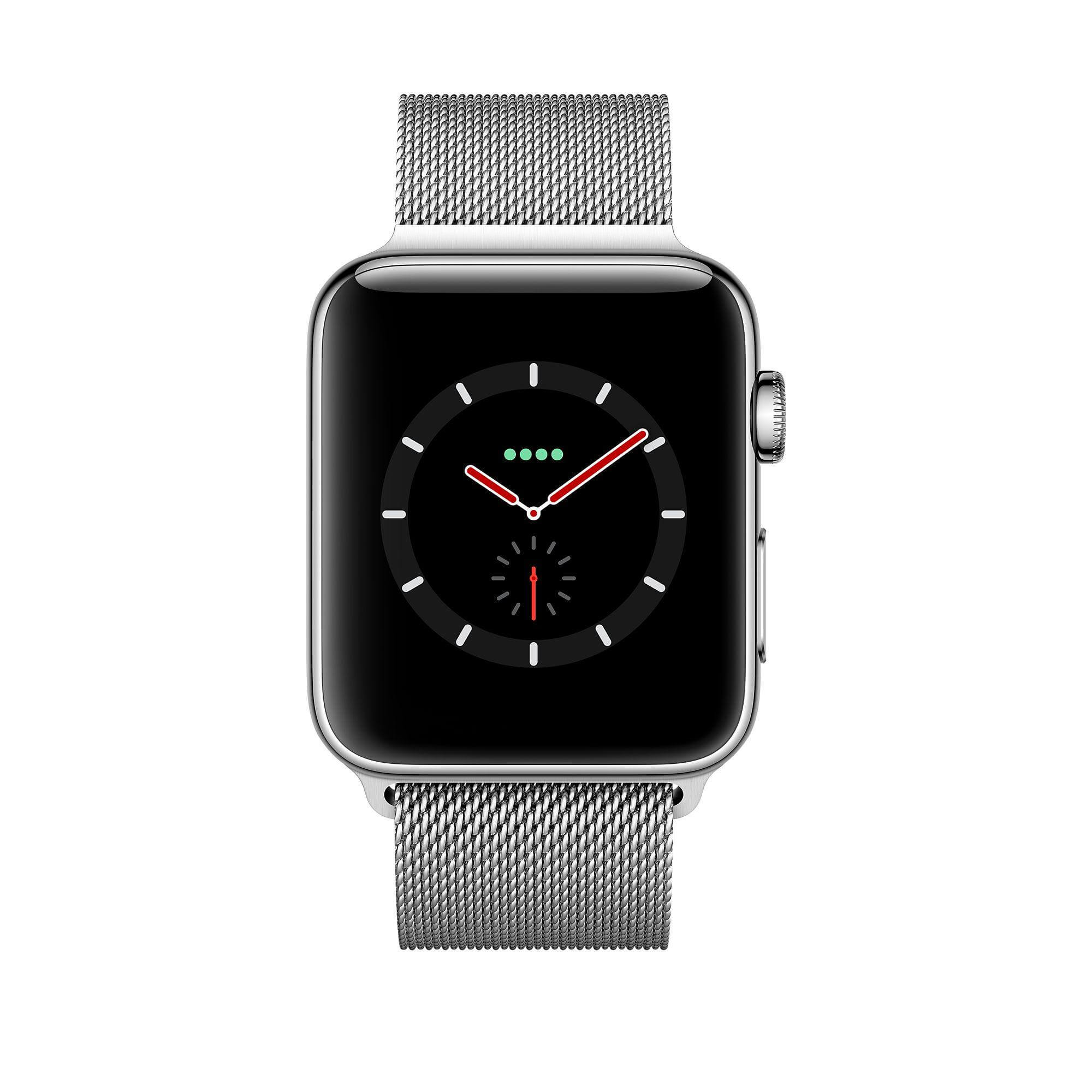 stainless collections watch apple en steel casetify ca collection mesh milanese w loop silver band watches