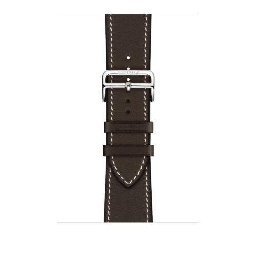 2a48fa89b24 Apple Watch Hermès Barenia Leather Single Tour Deployment Buckle Online. Apple  Watch Hermès - 44mm